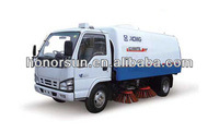 road sweeper truck XCMG brand road sweeper ISUZU chassis for sale