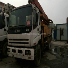 Putzmeister 37m used Concrete pump truck Japan's original putzmeister concrete pump spare parts hot sell