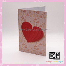Surface Shiny Glitter Greeting Card for wedding invitation