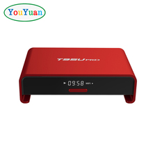 T95U PRO Amlogic S912 TV BOX Octa-Core 2G 16G 2.4G 5G Wifi bluetooth 4.0 metal case, android 7.1 tv box T95UPRO LAN Gigabit RJ