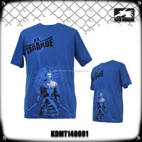 top fabric design running hot sports wear mma T-shirt
