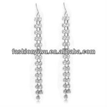 2012 Latest Alloy Long Tassels Earrings