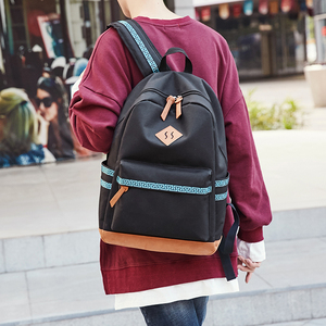 9906 Chinese style Oxford fabric Men school backpack waterproof laptop bagpack for teenagers