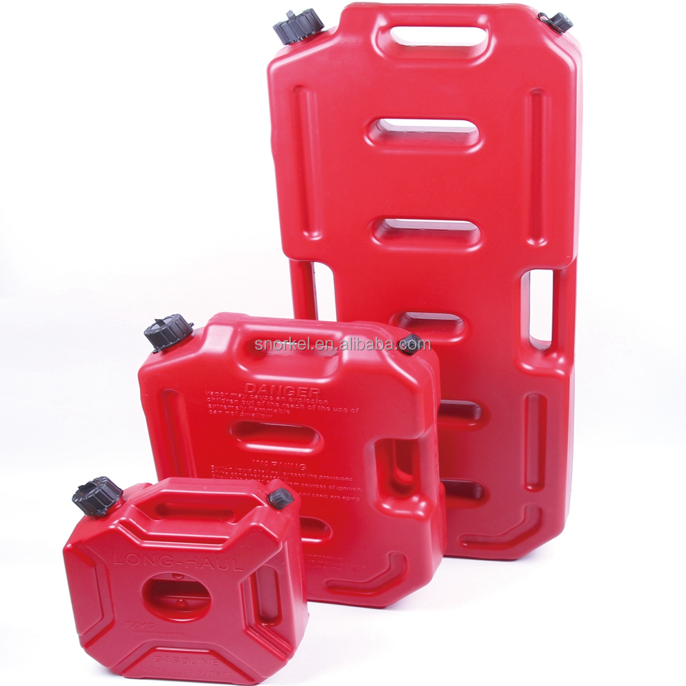 3 liter and 5 liter plastic portable jerry can motorcycle use fuel tank