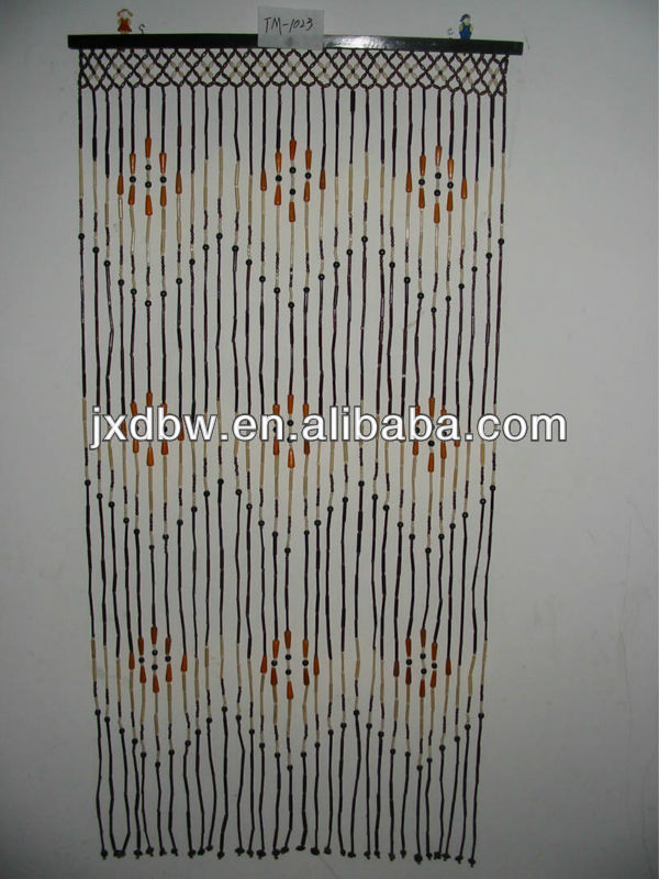 Wholesale Latest Designs 2014 Room Divider Bamboo Bead Curtain