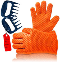 Top Rated Amazon BBQ Grilling Heat Resistant Oven Silicone Glove