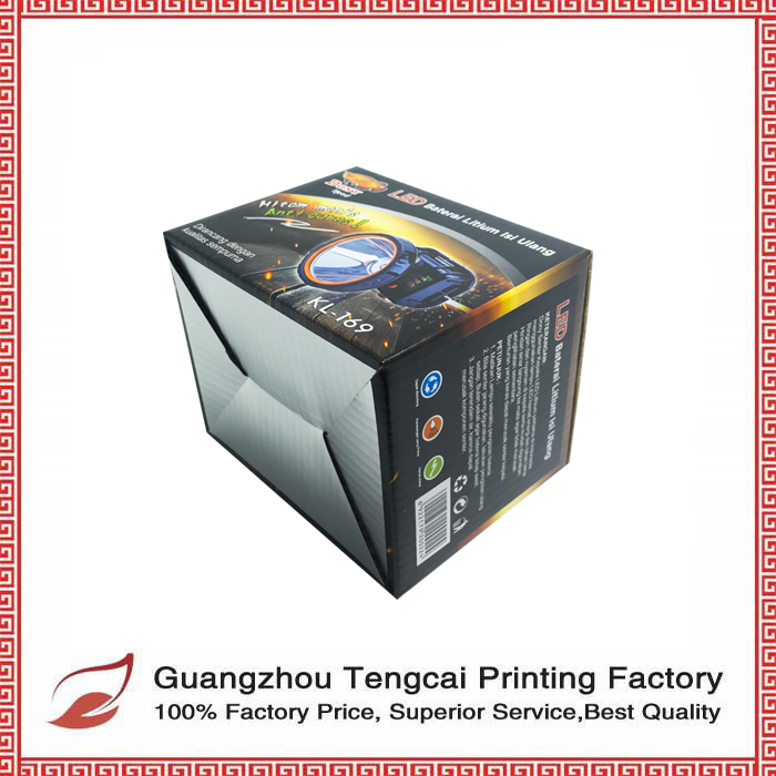 Manufacturer Customized Recycled Paper Box with Free Sample
