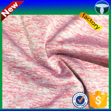 4 way stretch 95% polyester 5% elastane fabric for shirt