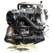 High Quality japan Genuine guaranteed best comdition 4jb1-tc used diesel engine and 4JB1 4JB1T geabox