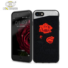 Embroidery customize textures and color alibaba mobile phone case for iphone 8 7 case