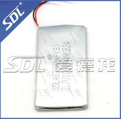 High quality aluminium covered Li-ion battery for mp3/mp4 with 1000mAh 3.7V 463460AP