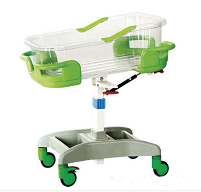 2017 hot sale adjustable hospital baby crib for HOSPITAL baby room