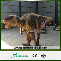 Dinosaur Costume Walking with for Sale , realistic dinosaur costume , robotic dinosaur costume
