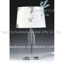 Decorative wired home goods crystal table lamps