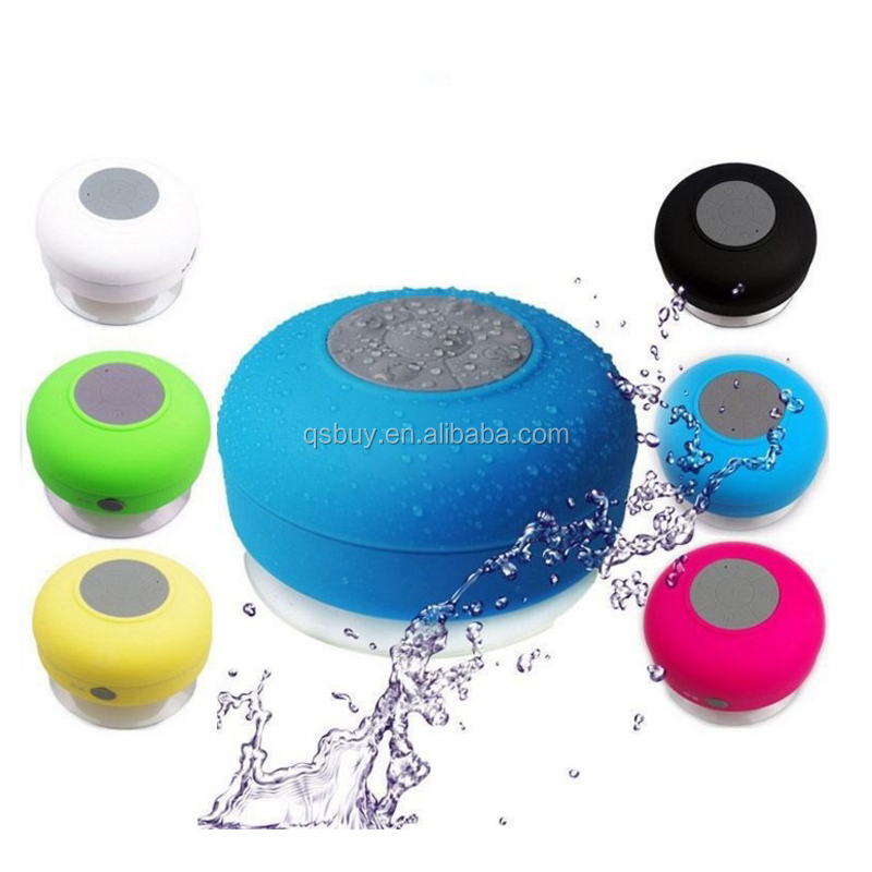 Universal wireless portable waterproof bluetooth shower speaker