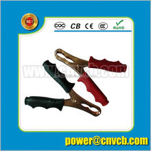 Heavy Duty Battery 70mm 30A Crocodile Alligator Test Leads Clips Insulated