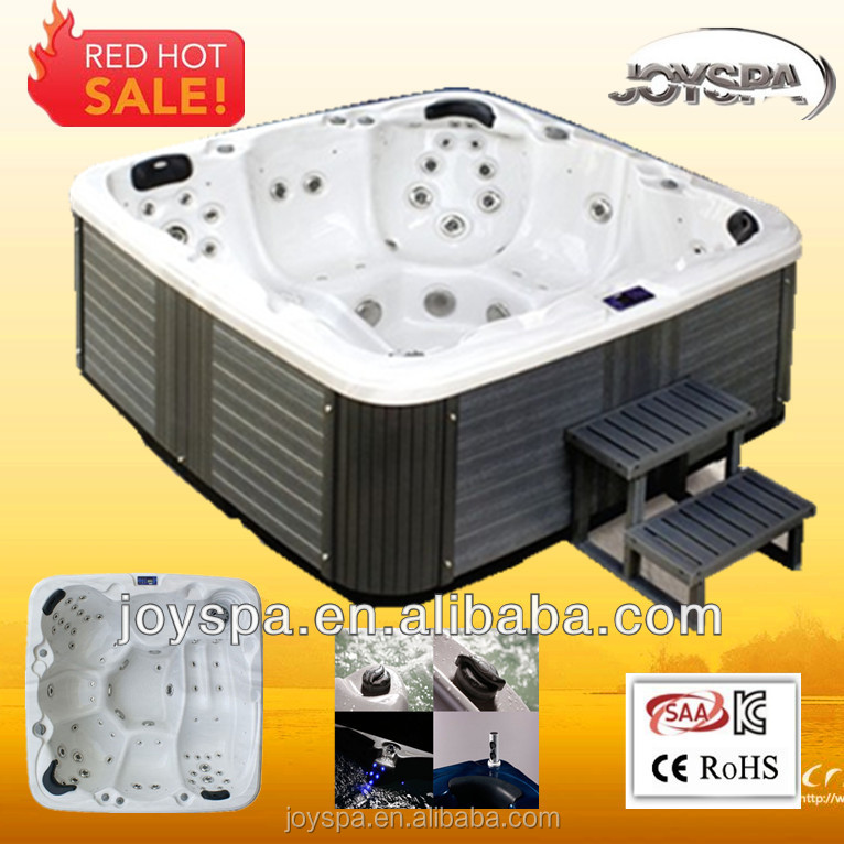 Super luxury massage pop up hot tub speakers from direct manufacturer spas