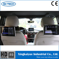 "2015 innovative android hanging dvd players 9 ""tft lcd digital screen headrest monitor"