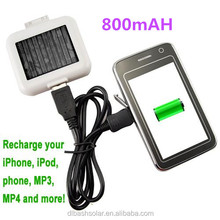 mini Cheapest 1800mAh Protable solar powered charger