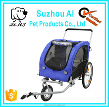 Pet Jogger Bike Carrier Trailer Dog Stroller