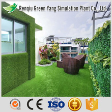 Simulation outdoor decoration wall panels artificial grass wall