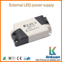 5w 7w 9w high power factor external type LED driver LKAD06F