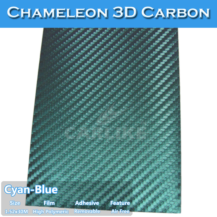 Dry Stick,Heat Gun Chameleon Carbon Fiber Car Cover Vinyl Film