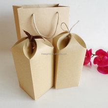 Hot sale high quality raw materials of craft paper gift bag