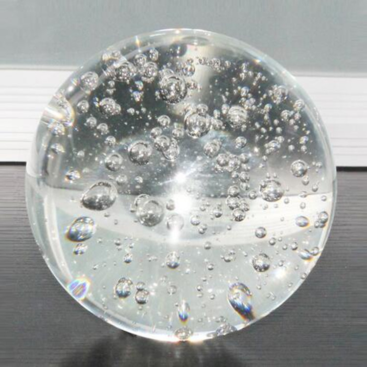 High transparent solid display spheres clear bubble round acrylic ball