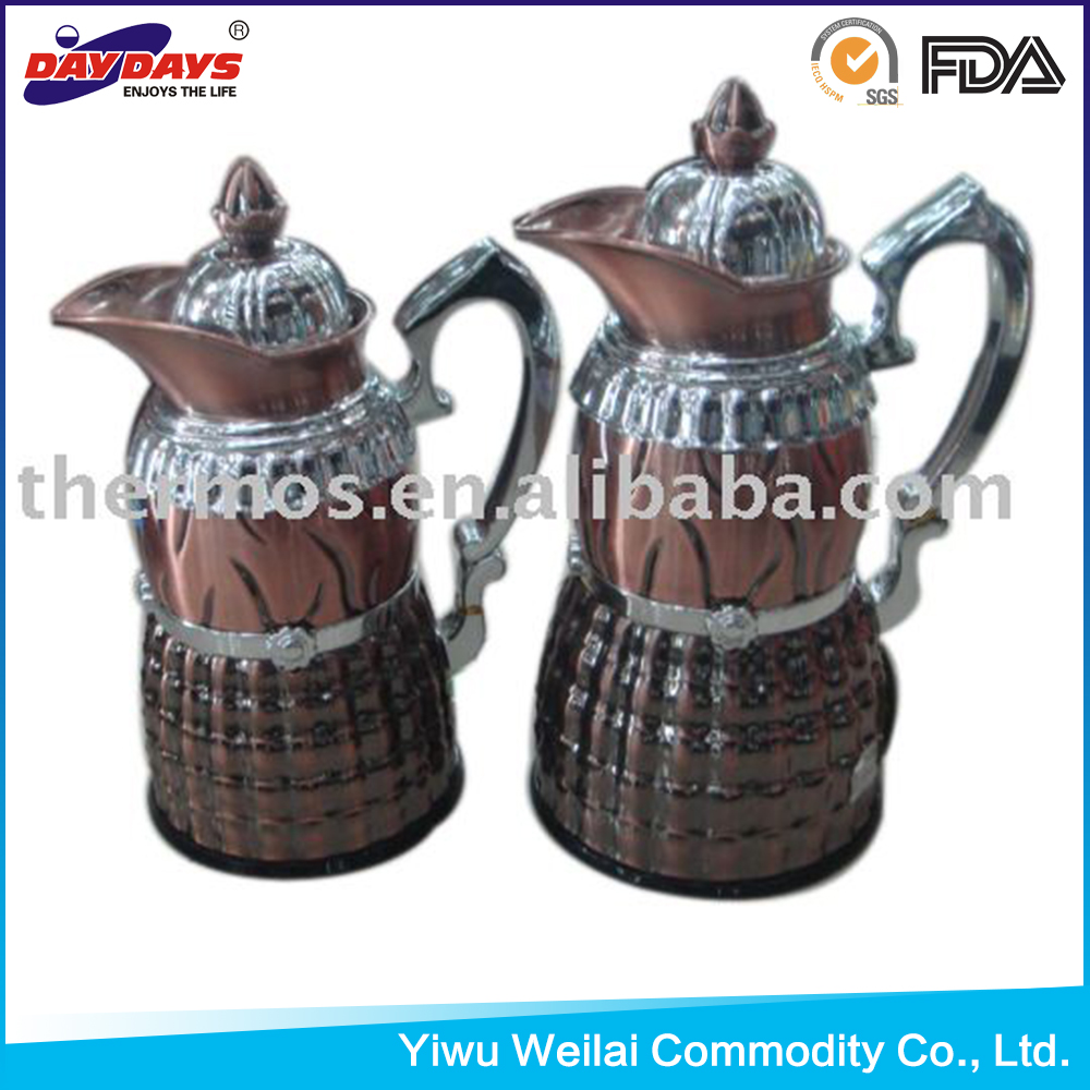 Arabic coffee pot set 1.0+0.6l