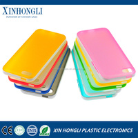 New Design double color tpu+pc case cover for iphone 5 mini