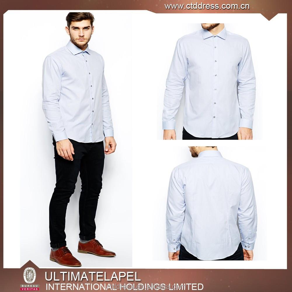 Men 100 cotton tailor made custom made dress shirt buy for Tailor made shirts online
