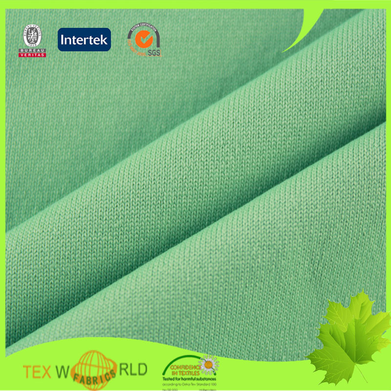 Free Sample Knitting Single Jersey Fabric for Underwear Garment