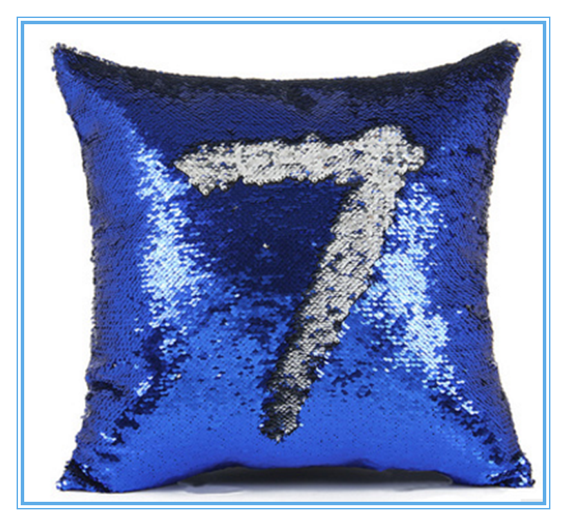 Popular Top Selling Sequin Pillow DIY Glitter Sequin Reversible Mermaid Pillow For Changing Color