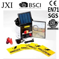 Hot selling Animal Livestock Farm Solar Power Electric Fence Energiser Charger -5km Distance