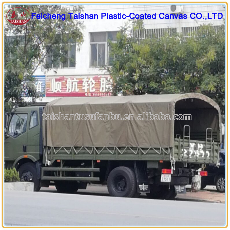 650gsm Cotton Canvas Fabric Tarpaulin For truck ,lorry,freight car