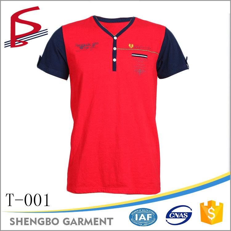 Factory wholesale printing v neck t shirt men buy v neck for Buy printed t shirts wholesale