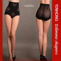 Women shape briefer sexy hips lace brief belly slimming ladies control high waist briefer
