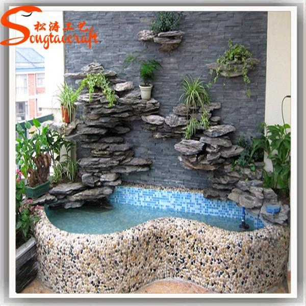 Fuentes de agua para exteriores great fuente agua redonda - Fuentes de piedra artificial ...