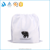 LOW MOQ satin silk drawstring dust bag for handbag, satin bag for hair packaging