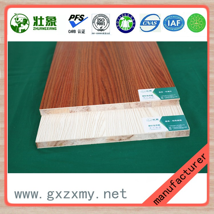 Hot Selling Cedar Wood Core Melamine Faced Eco Board Sizes To South Africa