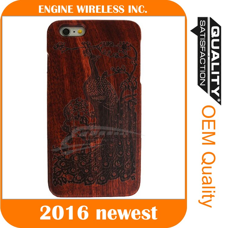 safety cover for mobile phone for iphone 6 wood case, for iphone 6 case wood