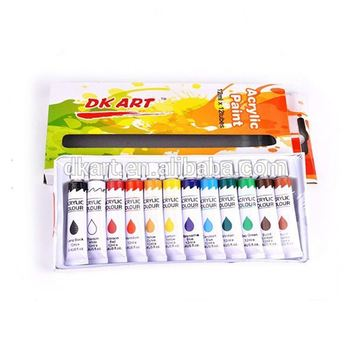 Fine appearance,factory directly,12mlx12clr, Acrylic colour