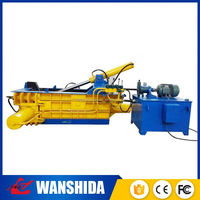 hydraulic vertical double cylinders waste paper/newspaper/carbodard baler machine