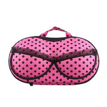 2016 ladies fashion bra storage case travel portable EVA underwear bra bag