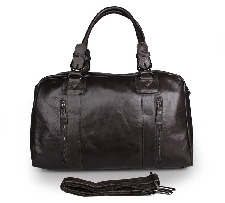 7190J-1 Vintage Genuine Leather Travel Bag For Men Leather Handbag In China Wholesale