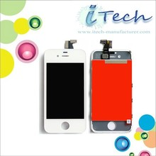 for iPhone 4 LCD Digitizer Assembly+Back Cover+Home Button Color Available for Blue,Pink,Red,Yellow,Green,Orange