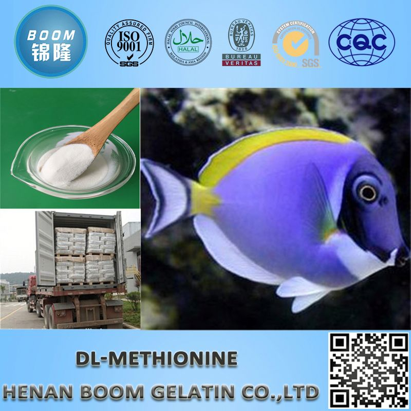 Free sample animal grade dl methionine 99% for fertilizer or feed