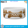 good wholesale ceramic dog water bowl