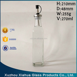 250ml olive oil vinegar use Dispenser top glass bottle
